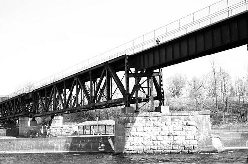 Lonely bridge medium