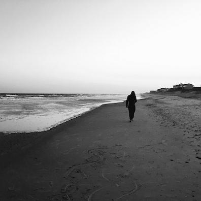 Joshua alone