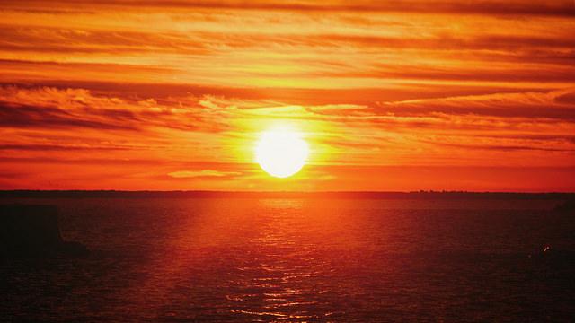 New sunset