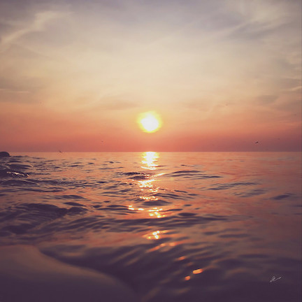 Sunset faded