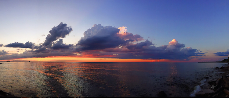 Pano sunset