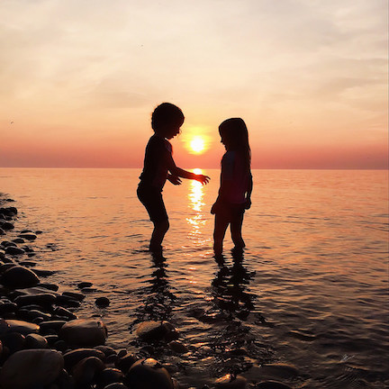 Addy sunset